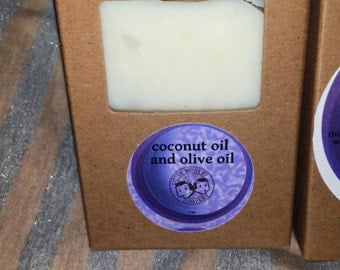 Coconut and Olive Oil Bar Soap