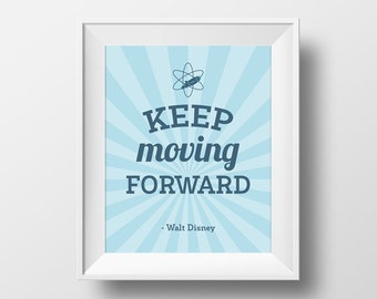 Moving Wall Art keep moving forward | etsy
