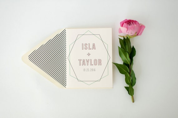 isla personalized thank you cards +  lined envelopes (sets of 10) // lola louie paperie
