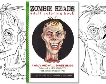 adult coloring book zombies - Nude Coloring Book