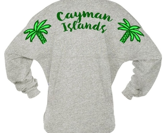 Spirit Jersey - Cayman Islands - Wedding Honeymoon Destination Wedding Bride Groom Gift
