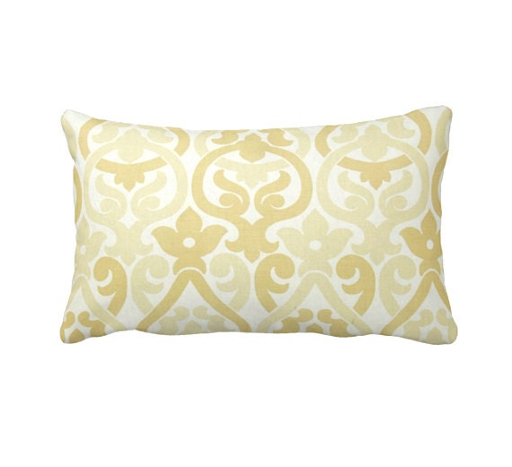 Dimensions Of Throw Pillow : 7 Sizes Available: Yellow Throw Pillows Yellow by ReedFeatherStraw