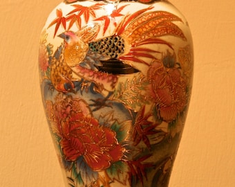 CHINESE VASE with Birds