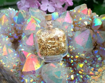 24 Karat Gold Flakes for Personal Power and Success