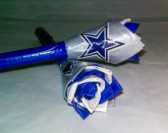 NFL Dallas Cowboys - Flower Pen - Duct Tape Pen