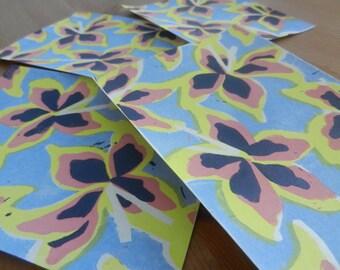 Lily Linocut Print (4 Colours)
