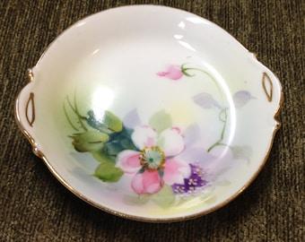 Hand Painted Nippon Porcelain Dish, Decorative Japanese Dish, Nippon Dish, 1920s