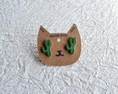 Saguaro Cactus Stud Earrings