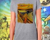 Mars Attacks Munch's Scream Women's Tee