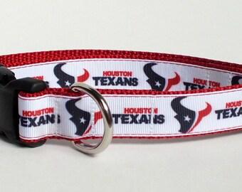 Houston Texans Dog Collar, nfl