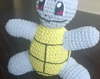 Giant Crocheted Squirtle