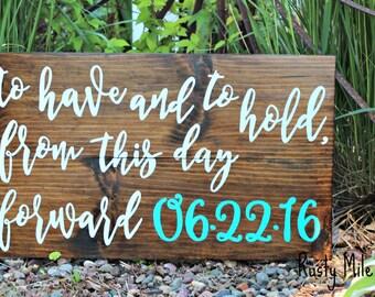 Wedding Sign, Wedding Date Sign, Best Day Ever, Customizable Wedding Sign, Save the Date Sign, Rustic Wedding Sign