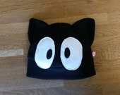 Jiji inspired anime cat cosplay fleece hat