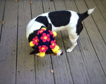 Halloween Costume Turtle Dog Costume Hat Crochet Unique Handmade Amigurumi Hat