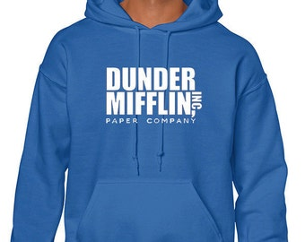 Dunder Mifflin Hoodie Sweatshirt From the TV Show The Office