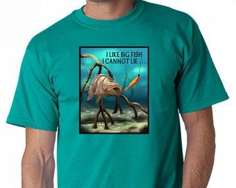 I Like Big Fish Fishing T-Shirt