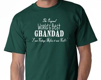 The Original World's Best Grandad T-Shirt