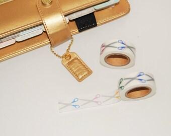 Washi Tape. Craft Scissors