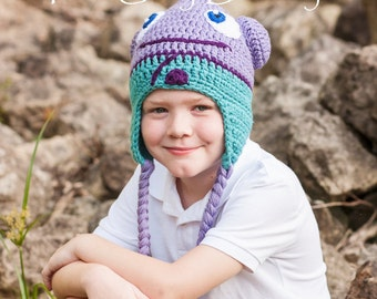 O Hat inspired by the movie Home Alien Character Hat Monster Hat sizes Newborn - Adult Halloween Costume