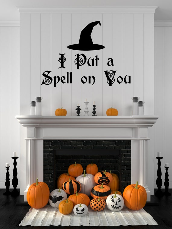 Halloween Decal Hocus Pocus Decal Spell Hocus By Stickythingz