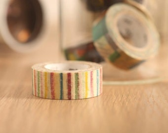 MT Washi Tape Shima Shima  Japanese Masking Tape | mt for kids (MT01KID019)