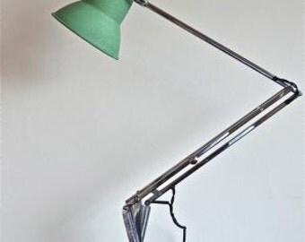 An original 1930s Herbert Terry anglepoise light
