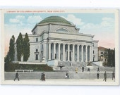 McKim, Mead, & White's Low Memorial Library, Library of Columbia University, New York City Postcard - ca. 1920s