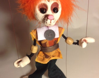 Meeces - Classic Marionette Puppet Handmade by The Squeaking Tribe