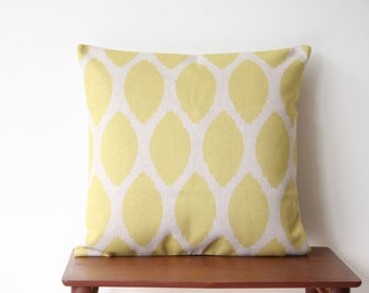 "18""x18"" Pillow Cover Geometric Pattern Yellow Dots Cushion Cover Throw Cushion Cover 69"