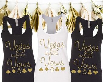 Vegas Before Vows Bachelorette Tanks - Vegas Bachelorette Party Tank Tops - Vegas Before Vows Tanks - Vegas Bachelorette Tanks - Vegas Tanks
