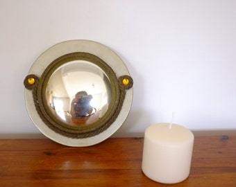 Convex mirror, mirror of witch, magic, mirror of the bankers,