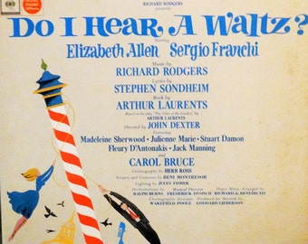 Do I Hear A Waltz? (Original Broadway Cast) Elizabeth Allen,  Sergio Franchi – 1965 ( 1 LP / Album)