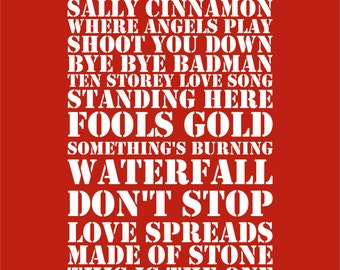 The Stone Roses - Heaton Park Manchester - Set List Sunday 1st July 2012