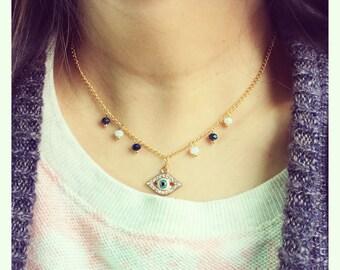 Ojo (Eye) Necklace