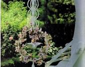 MACRAME PATTERN Vintage 70s Vintage Handmade Wedding Macrame Plant Hanger Macrame Planter Pattern Macrame Bohemian Boho Home Decor