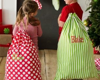SALE! Personalized Santa Sack - Christmas Gift