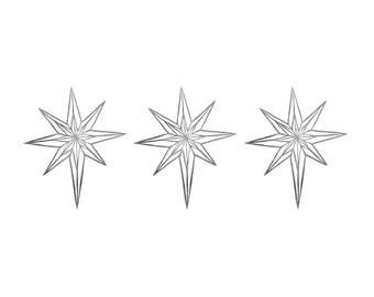Midnight Star Rubber Stamp | 013071