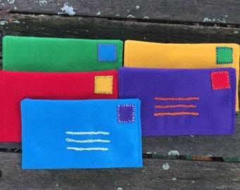 Felt Envelopes for Children