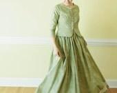 Sabbath Day Dress - Button up modest dress - Prairie Dress Made to Measure Modest dress colonial dress Mennonite reenactment dress