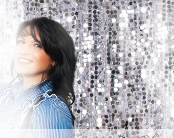 Sequin Photobooth Backdrop  LARGEST COLOR SELECTION