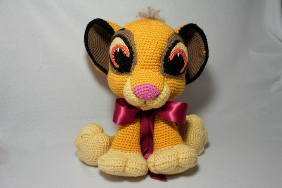 Lion King Amigurumi : Amigurumi Lion Cub 14 Crochet Baby Simba Adorable