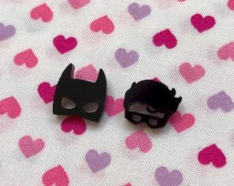 Little Superhero Stud Earrings