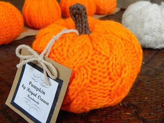Pumpkin decorknit pumpkinknitted pumpkinscrochet