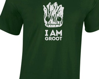 I AM GROOT guardians of the galaxy t-shirt, tee, top