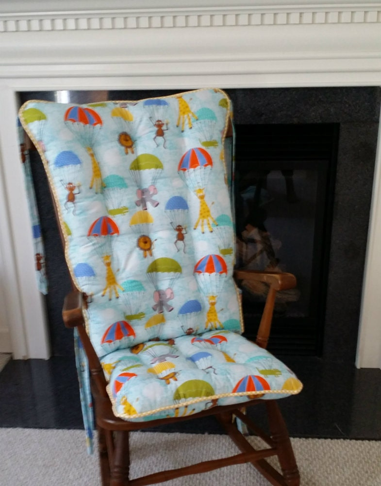 Custom Hanging Out Custom Rocking Chair Cushions Glider