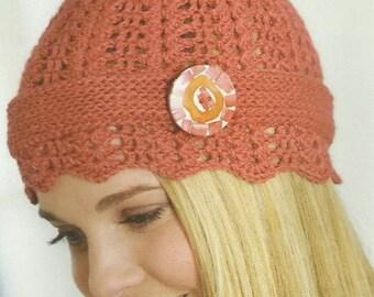 Crochet Cloche Hat Crochet PDF Pattern