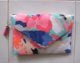 Bright Coloured Contempory Clutch