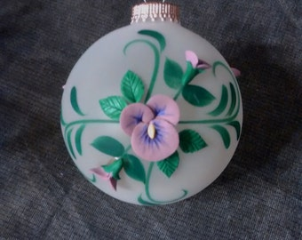 C & B EVERY Heirloom ornament, vintage, retro, Christmas, decoration, collectibles, shabby chic, Victorian inspired, glass