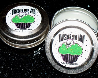 Cupcakes Gone Wild Shea Butter Solid Perfume Fragrance Balm