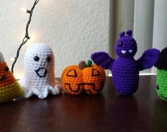Halloween crochet plushie